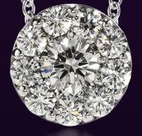 Beloved necklace by HoF. Hearts on Fire offers engagement rings, wedding bands, bracelets, necklaces...