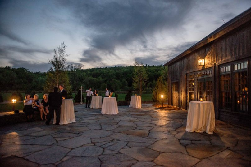 Quonquont farm venue whately ma weddingwire for Outdoor wedding venues ma