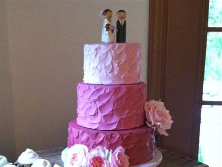 Tmx 1422477596683 Ss Pink Wedding Fountain Valley wedding cake