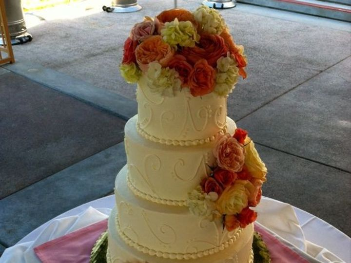Tmx 1422477672288 Ss Wed Rosey Red Fountain Valley wedding cake