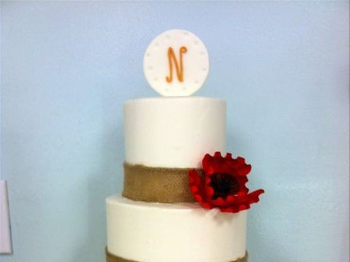 Tmx 1422478122223 Ss Wed Burlap Red Fountain Valley wedding cake