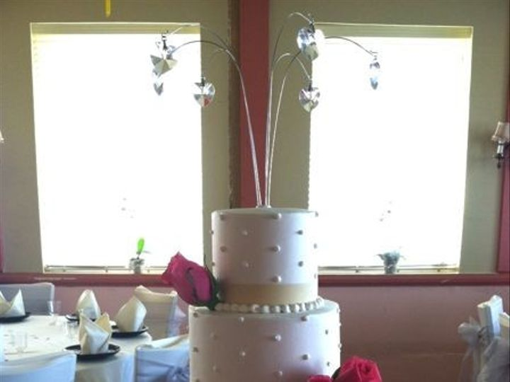 Tmx 1422478161704 Ss Wedding 4tiered Swiss Fountain Valley wedding cake