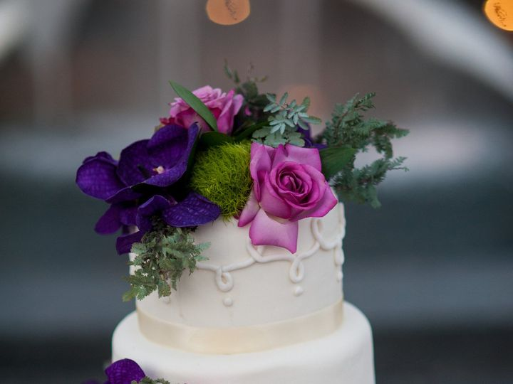 Tmx 1457209205491 Ss Purple Flowers Ej Fountain Valley wedding cake