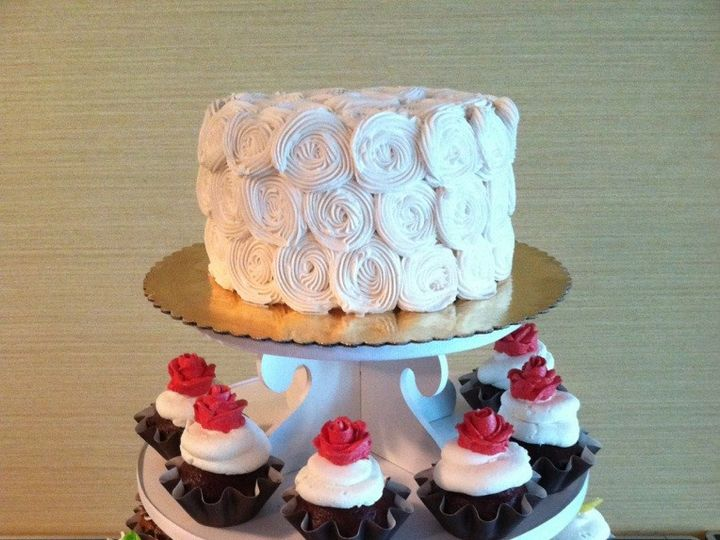 Tmx 1457209224755 Ss Wedding Cupcake Tower Fountain Valley wedding cake