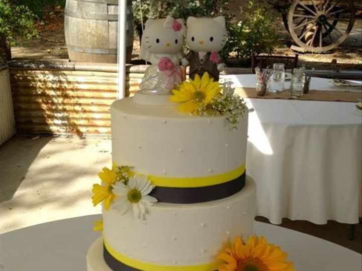 Tmx 1457209251435 Ss Sunflower Red Fountain Valley wedding cake