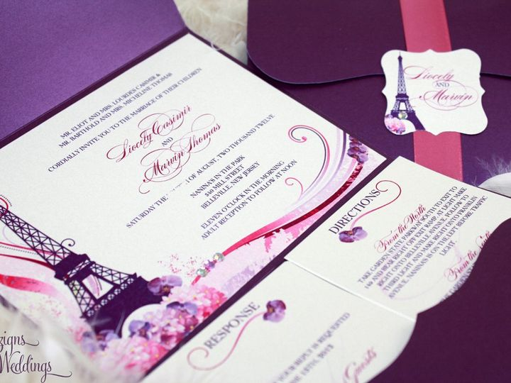 Tmx 1354862726643 IMG1517copy Toms River, NJ wedding invitation