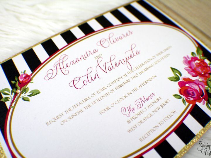 Tmx 1441767064551 Img1425 Copy Toms River, NJ wedding invitation