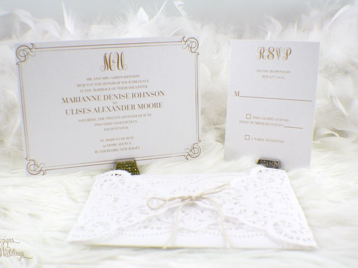 Tmx 1441767130065 Img1410 Copy Toms River, NJ wedding invitation