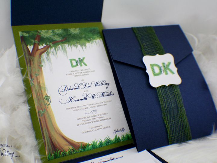 Tmx 1441768370545 Img3553 Copy Toms River, NJ wedding invitation