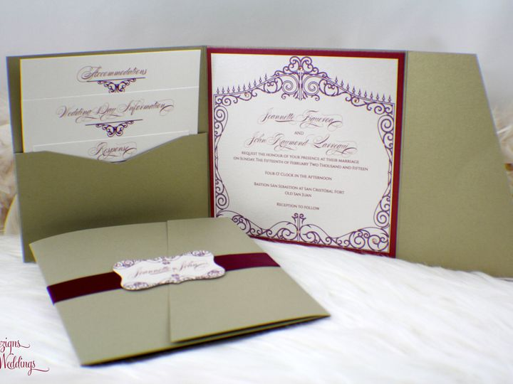 Tmx 1441769031353 Img0832 Copy Toms River, NJ wedding invitation