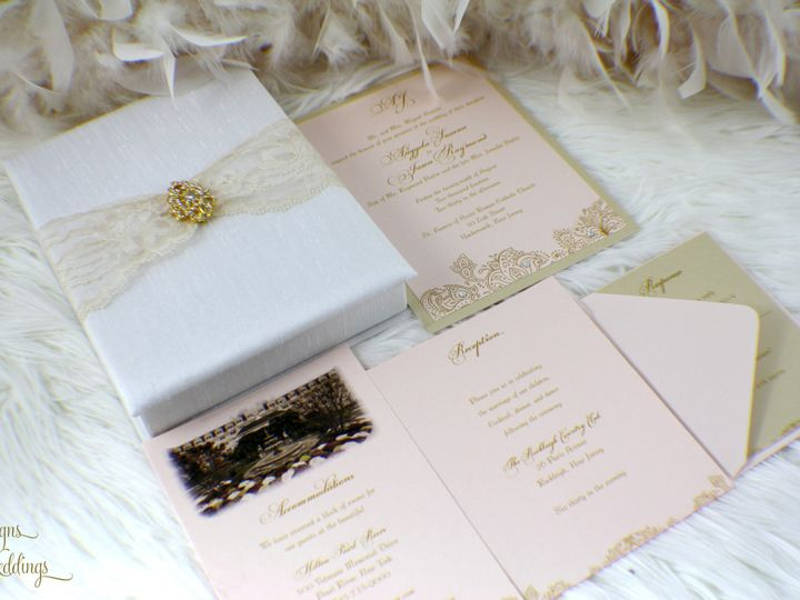 Tmx 1441770297558 Img1069 Copy Toms River, NJ wedding invitation