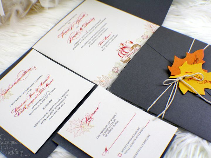 Tmx 1441771164045 Img0687 Copy Toms River, NJ wedding invitation