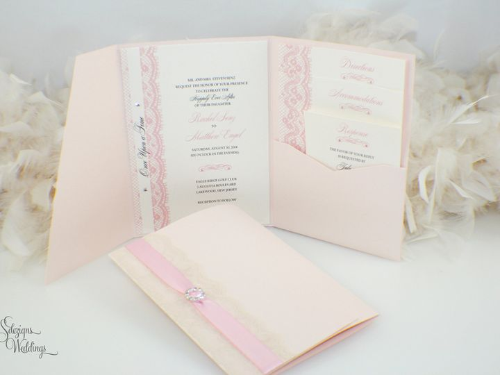 Tmx 1441772234983 Img9431 Copy Toms River, NJ wedding invitation