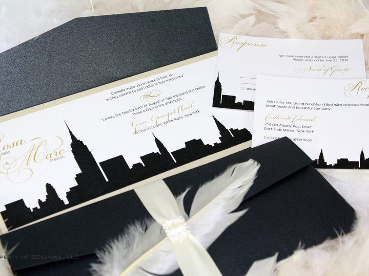 Tmx 1441772478338 Img9282 Copy Toms River, NJ wedding invitation