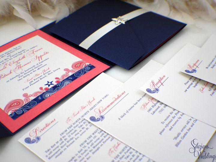 Tmx 1441773204280 Img7682 Copy Toms River, NJ wedding invitation
