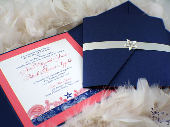 Tmx 1441773227652 Img7683 Copy Toms River, NJ wedding invitation