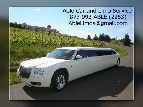 Tmx 1285907906188 Chrysler300limowhiteNewJerseyLimousineServiceNJ Saddle Brook wedding transportation