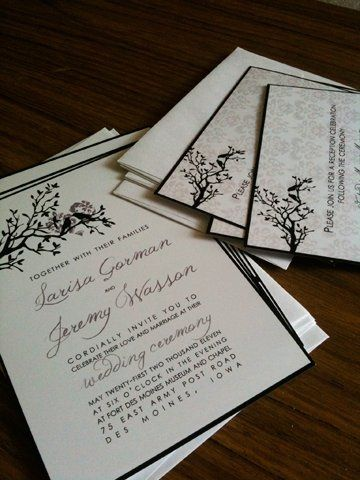 Tmx 1309668386663 Paperdesignexmple Foothill Ranch wedding invitation