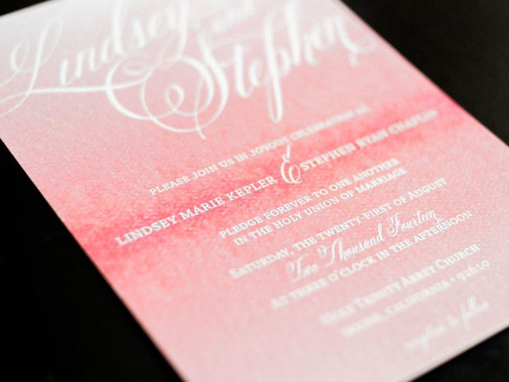 Tmx 1432947765127 7165611orig Foothill Ranch wedding invitation