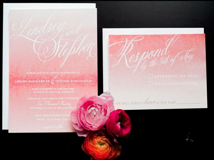 Tmx 1432947772535 2373251orig Foothill Ranch wedding invitation