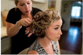 Wedding Hair & Makeup by Stephanie Williams
