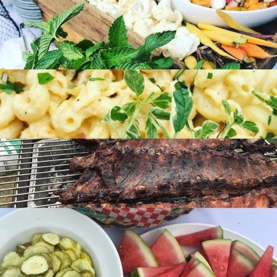 tastyplates catering/ blackstrap bbq