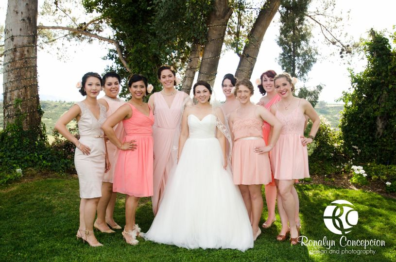 Looks for the whole bridal party