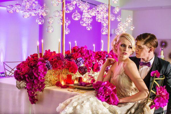 800x800 1389327996982 Expressionary Events Orange County Wedding Planner 1335996336295 Purplemagentaweddingreceptiondowntown