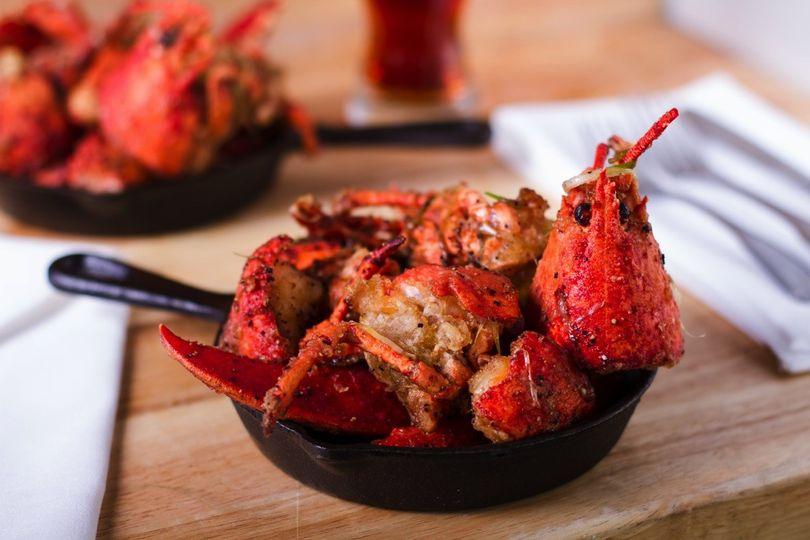 Asian Style Salt & Pepper Lobster