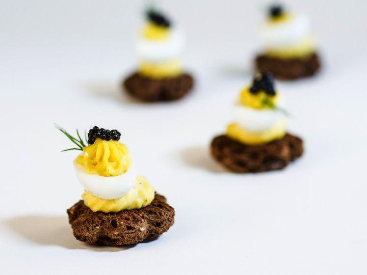 Tmx 1432770163015 Devilied Quail Egg Caviar Resized Houston, Texas wedding catering