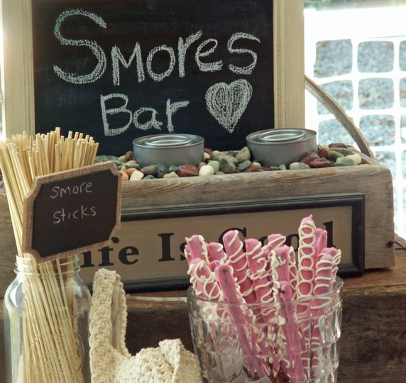 The S'mores Bar at Holiday Hill