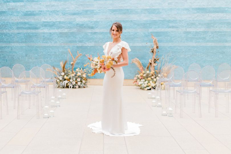 Blanton Museum Of art Wedding