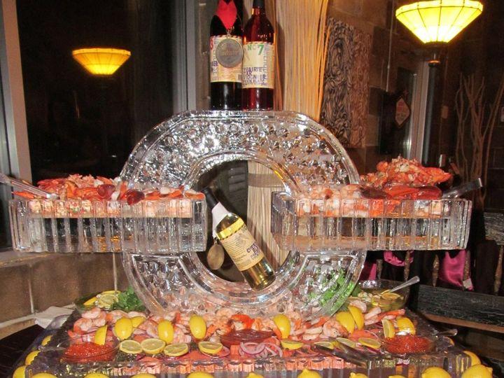 Tmx 1361976359354 Shrimpicesculpture025 Minneapolis wedding catering