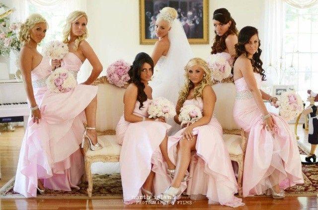 Blush pink women