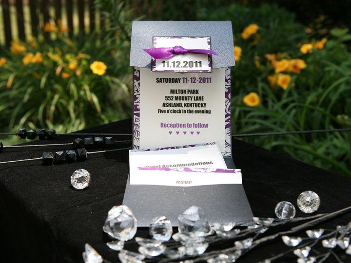 Tmx 1356844710695 IMG7859 Charlotte wedding invitation
