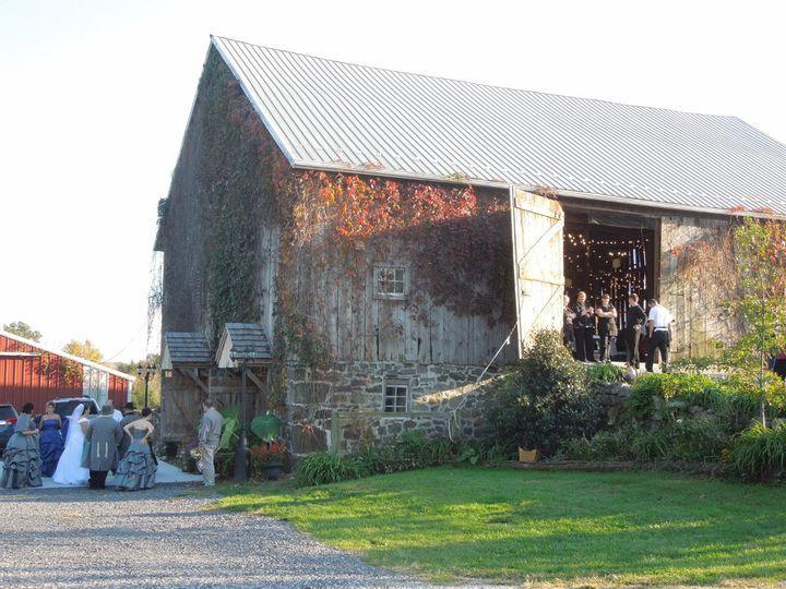 Civil War wedding in our historic Civil War barn.