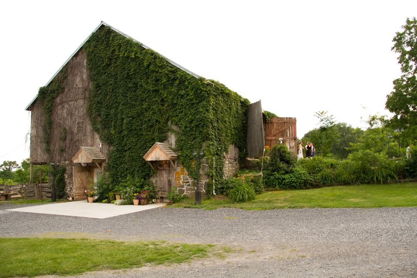 Barn Exterior with Ivy