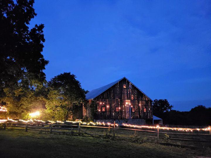 Tmx Barn At Night 51 341978 158083730887870 Gettysburg, PA wedding venue