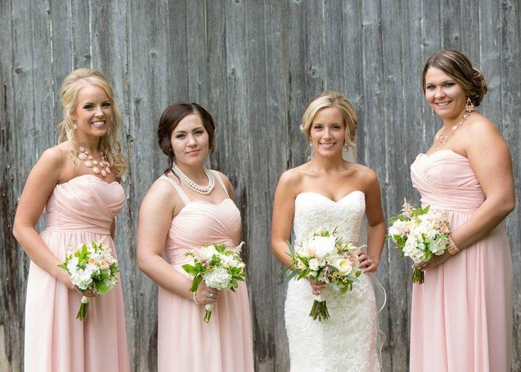 kristyne bridesmaids