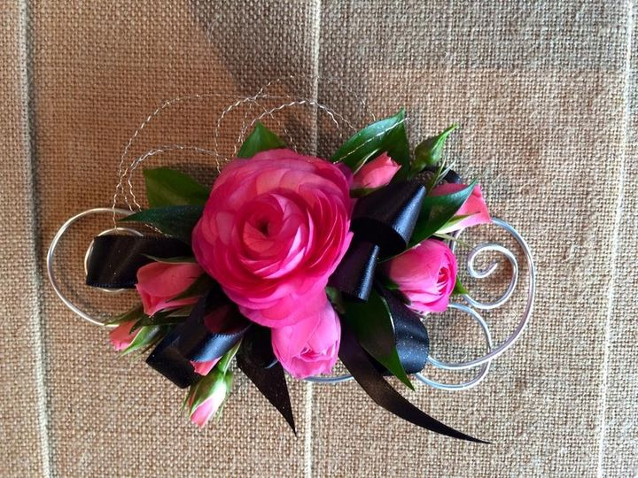 Tmx 1466810492219 Ranunculus Wire Wrist Corsage Verona, WI wedding florist