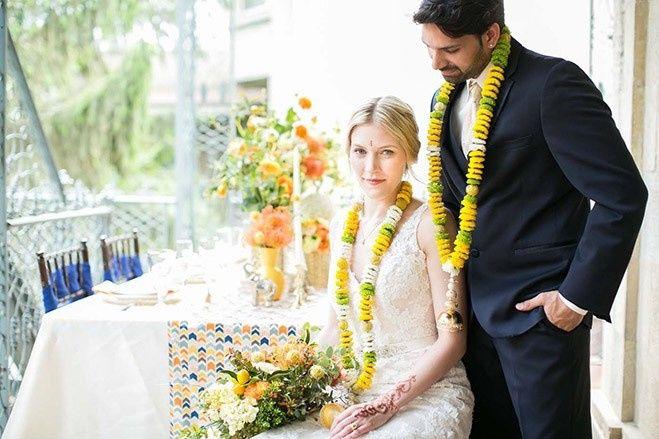 Tmx 1477420257309 East Meets West Couple Table Verona, WI wedding florist