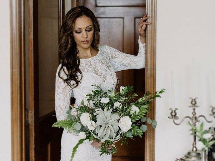 Tmx 1477422668922 Wood Violet Bride Bouquet Door Verona, WI wedding florist