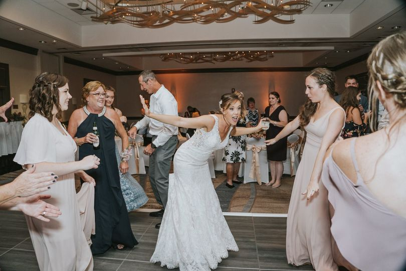 The Bride on the floor- succes