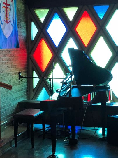 Does your event space have a piano? Great if it does but if not Katie Ann can provide her portable...