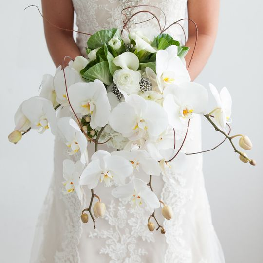 bridal bouquets fw2015 cabbage rose 4801