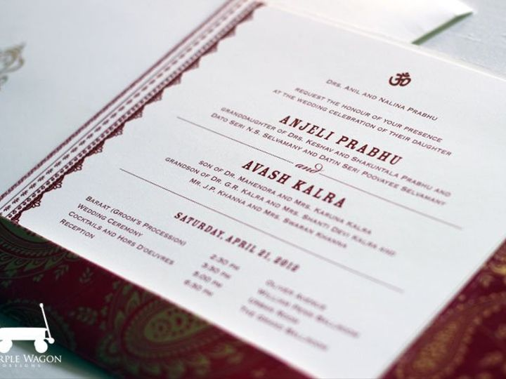 Tmx 1338815728571 IndianRed Buffalo, NY wedding invitation