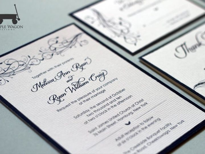 Tmx 1338815735196 Vines Buffalo, NY wedding invitation