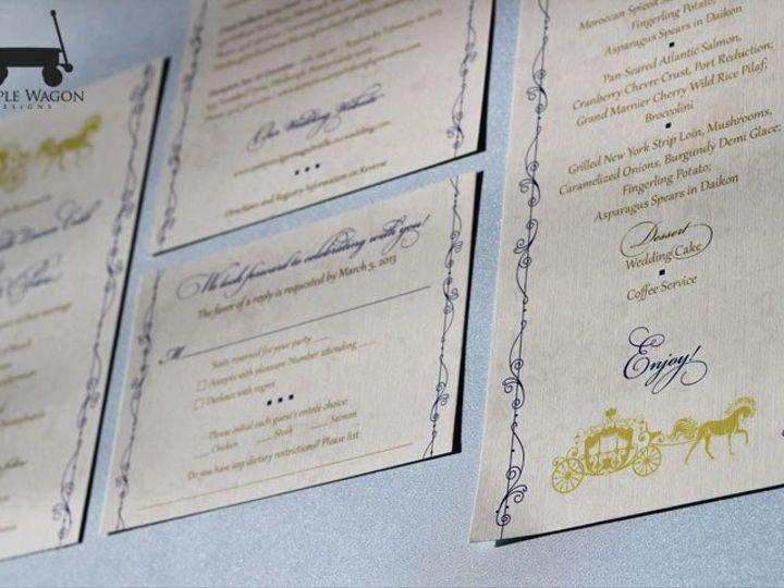 Tmx 1358879943180 FairyTale Buffalo, NY wedding invitation