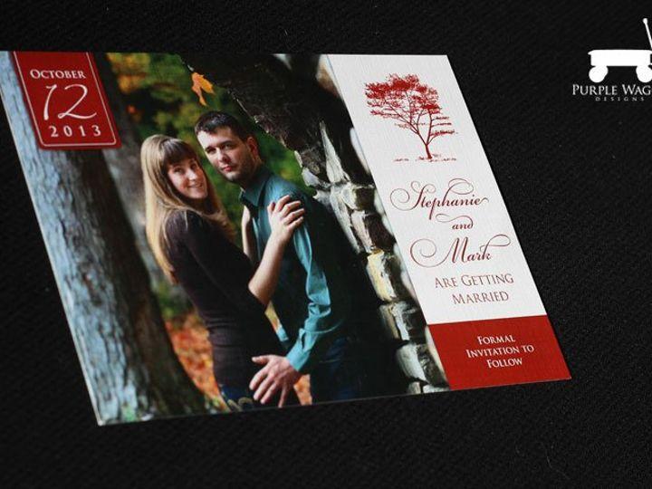 Tmx 1358879945027 SaveTheDateTree Buffalo, NY wedding invitation