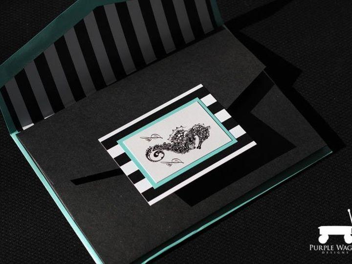 Tmx 1358879945628 SeahorseFolder1 Buffalo, NY wedding invitation